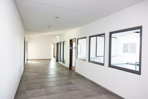 Beim Neubau der Büros der BMG Labtech in Ortenberg kam für alle nichttragenden Wände die Fermacell Montagewand 1 S 31/W zum Einsatz