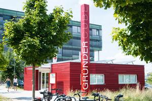 Anerkennung Industrie- und Gewerbebauten: GründerCube in Lübeck<br />