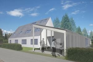 Das Ziel beim deutschen Model Home ist , optimales Energiedesign mit höchster Wohnqualität zu verbinden<br />
