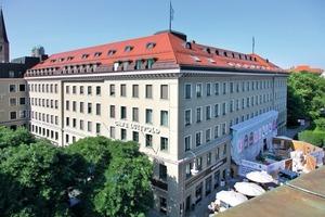 So sieht das nach den Zerstörungen des Zweiten Weltkriegs wieder aufgebaute Münchner Café Luitpold heute aus<br />
