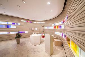 Mit dem ersten Preis in der Kategorie Design wurde die Kapelle St. Elisabeth in Ravensburg ausgezeichnet<br />