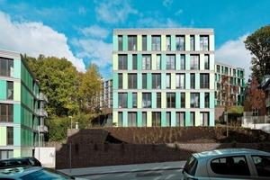 Drei Wohnhäuser für Studierende in Wuppertal nach Plänen von Architektur Contor Müller Schlüter Foto: Thomas Riehle
