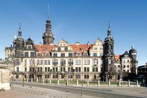 Das Dresdner Schloss vereint aufgrund seiner fast 500-jährigen Geschichte unterschiedlichste Baustile in einem Gebäude