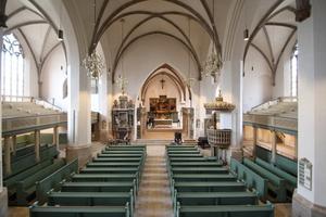 Blick in die Stadtkirche Sankt Marien