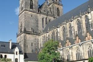 Ostansicht des Magdeburger Doms 2009<br />