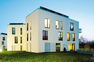 Mehrfamilienhäuser vom Büro kleyer . koblitz . letzel . freivogel gesellschaft von architekten mbh in Halle Foto: Dieter Kluge
