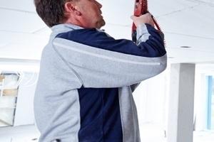 Verschraubung der Ausbauplatten