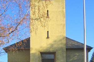 Durch Injektion eines Expansionsharzes wurde der Baugrund der Diakonissenkirche in Frankfurt am Main konsolidiert. Der Kirchturm war in den ausgetrockneten Boden abgesackt, was beträchtliche Gebäudeschäden nach sich zog