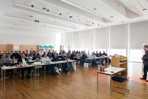 Blick in die Forumsveranstaltung in der Bauakademie in Feuchtwangen<br />