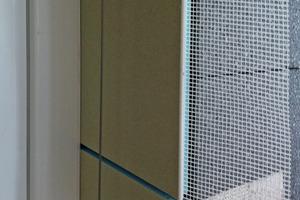 Systemfensteranschluss außen mit dem Vario Laibungssystem<br />