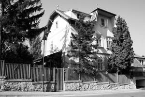Die 1911 in Perchtoldsdorf erbaute Villa vor Beginn der Umbauarbeiten