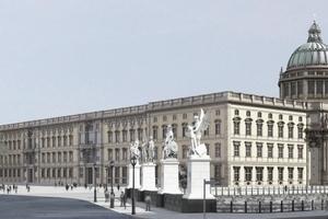 So soll das Berliner Schloss einmal aussehen, wenn es 2018 fertig gestellt sein wird
