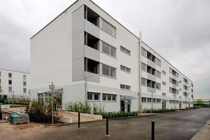 """<div class=""""99 Bildunterschrift_negativ"""">Der in München-Riem neu erbaute Kindergarten bietet mit vier Gruppen- und zwei Multifunktionsräumen Platz für etwa 100 Kinder</div>"""