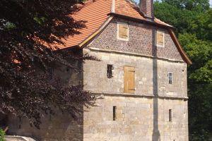 Ende Mai wurden die umfangreichen Restaurierungsarbeiten an der Wassermühle Schulze Westerath in Nottuln abgeschlossen. Nun können sowohl die funktionsfähige Mühlentechnik als auch Ausstellungen im Gebäude besichtigt werden<br />Foto: Annette Liebeskind / DSD