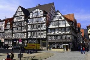 In Hannoversch Münden wurde Mitte April die Fachwerktriennale 2012 eröffnet<br />Foto: Fotolia.com/Red-Baron<br />