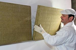 Die diffusionsoffenen und vor allem nicht brennbaren Mineralwolleplatten sind auch für Hochhäuser geeignet<br />Fotos: Baumit<br />