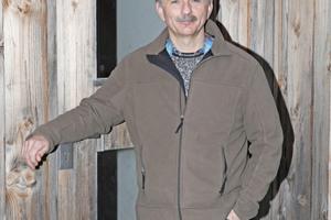 Bauforscher und Restaurator Peter Knoch