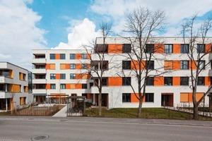 Wohnquartier in Freiburg nach Plänen des Büros und Binkert Architekten und Stadtplaner<br />Foto: Löffelhardt