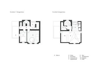 Grundriss Ober- und Dachgeschoss<br />