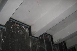 Datil: Anschluss der Schaumglasdämmung unter einer Decke<br />