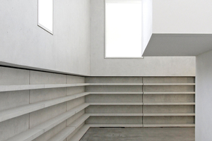 """Querblick durchs Innere des Meisterhauses Moholy-Nagy<span class=""""bildnachweis"""">Fotos: Benedikt Kraft</span>"""
