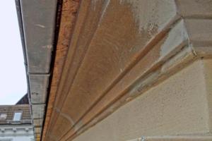 Die montierten Fassadenprofile wurden anschließend verputzt und gestrichen<br />Fotos: Architekturbüro Siemonsen