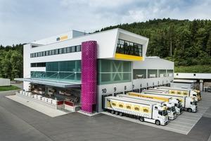 Das neue Logistikzentrum