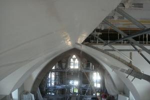 Trockenbauarbeiten in der Gerstheim Catholic Church, für die Werey &amp; Stenger den Weltmeistertitel erhielten<br />