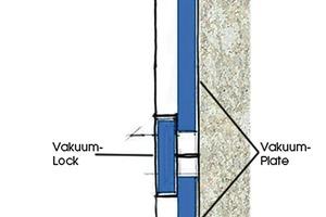 Das Vakuum-WDVS weber.therm LockPlate basiert auf einer patentierten Verlegetechnik. Durch das Zusammenspiel von Plate und Lock werden Wärmebrücken vermieden