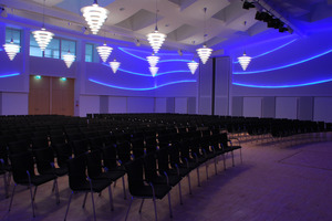 Preis Kategorie Systemwelten Leistungsbereich Akustiksysteme für die Stadthalle in Boppard<br />