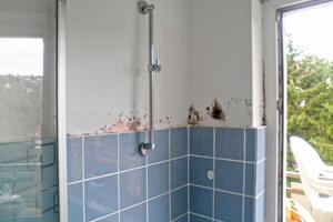Schimmel in ungedämmtem Haus mit bereits eingebauter Isolierverglasung