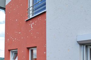 """Rechts: Die Dickputzhülle schützt vor Specht- und Hagelschäden<span class=""""bildnachweis"""">Fotos und Abbildungen: Saint-Gobain Weber</span>"""