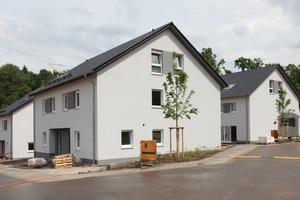 Auf dem Betzenberg entstehen in Kaiserslautern insgesamt 57 Wohneinheiten in Doppelhaushälften, Einfamilien- und Reihenhäusern