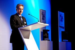 Redner auf der Preisverleihung: Dr. Rüdiger Vogel<br />
