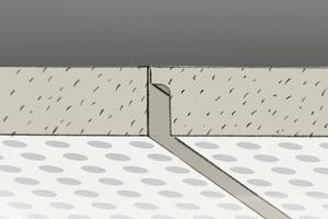 Bei Platten mit FF-Kante kann sofort verspachtelt werden