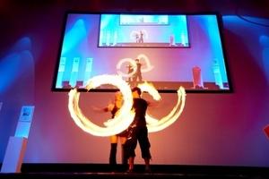 Schausteller auf der Gala in Potsdam<br />