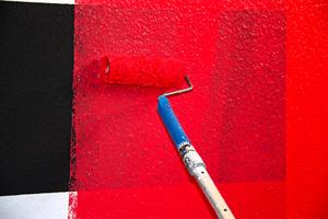 Problem: Der gewünschte Rotfarbton deckt nicht
