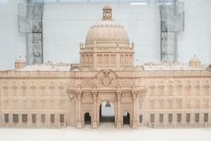 Holzmodell des Berliner Schlosses<br /><br />