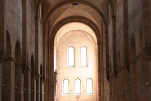 Mittelschiff in der Basilika<br />