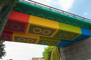 "Förderpreis: ""Lego-Brücke"" in Wuppertal, Schwesterstraße<br />"