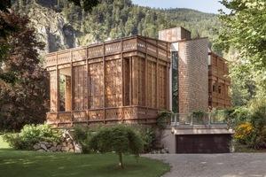 Die vom Architekten Alexander Diem an einem See im Westen Österreichs erbaute Villa überzeugt sowohl außen als auch innen durch ihre handwerkliche Qualität<br />Fotos: Alexander Diem / Andreas Balon