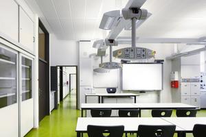 Das stimmige Gesamtkonzept für die Joachim-Schuhmann-Schule zeigt sich auch in den funktional eingerichteten Unterrichtsräumen<br />