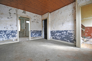 Das Wohnzimmer vorher