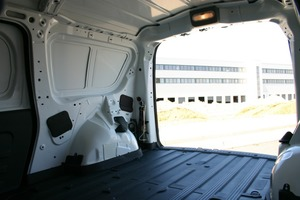 1.730 mm Laderaumlänge bieten viel Platz für Material und Geräte