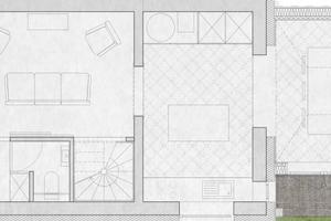 Grundriss Erdgeschoss (ohne Maßstab)⇥Quelle: Velux