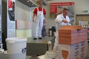 Bei den Praxis-Vorführungen in Oberstdorf ganz konkret zu sehen: Die Verarbeitung eines WDV-Systems<br />Fotos: Thomas Wieckhorst<br />