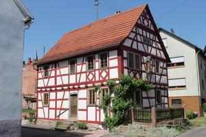 Fachwerkhaus in Külsheim<br />Foto: Harald Brode
