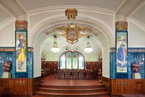 Das Pilsener Restaurant im Prager Gemeindehaus<br />