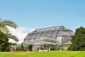 Das vor kurzem sanierte Große Tropenhaus im Botanischen Garten Berlin-Dahlem<br />