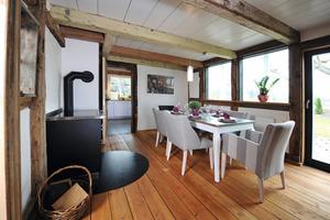 Blick vom Alkoven aus ins Esszimmer<br />Fotos (2): Sentinel Haus Institut / Nikolaus Herrmann<br />